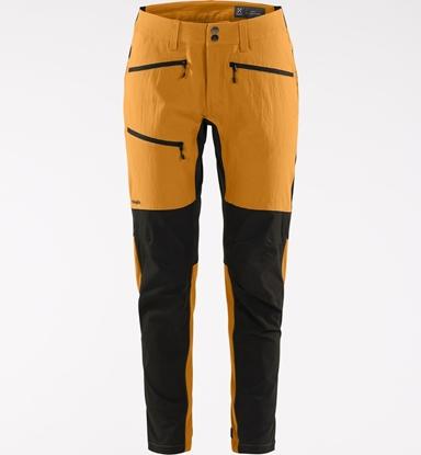 Bilde av HAGLÖFS Womens Rugged Flex Pants Desert Yellow/True Black
