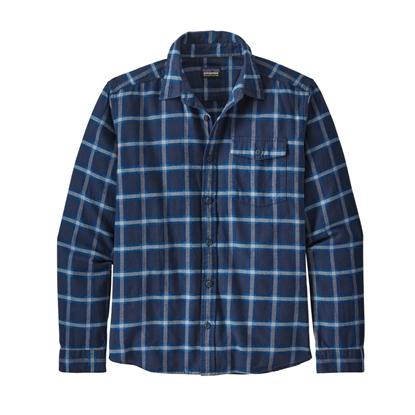 Bilde av PATAGONIA Men's Lightweight Fjord Flannel Shirt Grange: New Navy