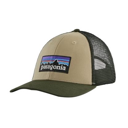 Bilde av PATAGONIA P-6 Logo LoPro Trucker Hat El Cap Khaki
