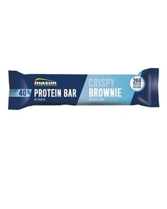Bilde av MAXIM 40% Protein Bar Crispy Brownie