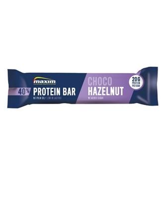 Bilde av MAXIM 40% Protein Bar Hazelnut/Vanilla
