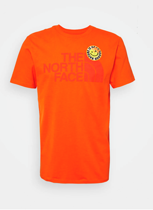 Bilde av THE NORTH FACE Men's Patches Tee Flame