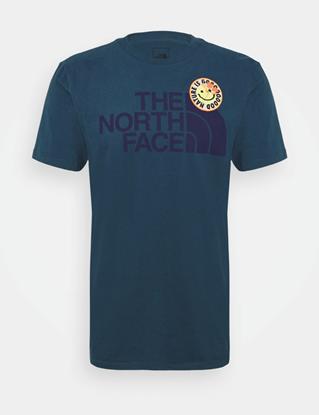 Bilde av THE NORTH FACE Men's Patches Tee Monterey Blue