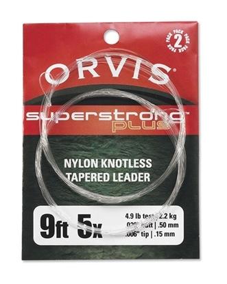 Bilde av ORVIS Superstrong Plus Nylon Knotless Tapered Leader