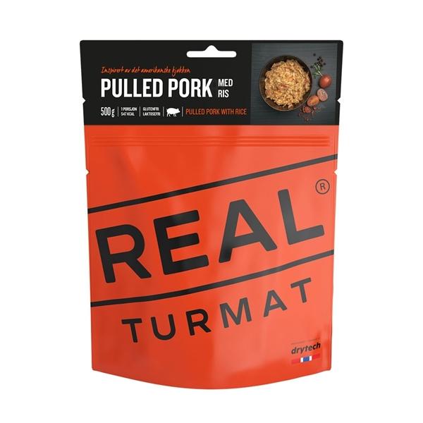 Bilde av REAL TURMAT Pulled Pork m/ris