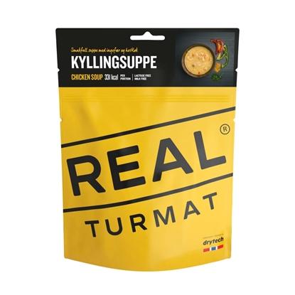 Bilde av REAL TURMAT Kyllingsuppe
