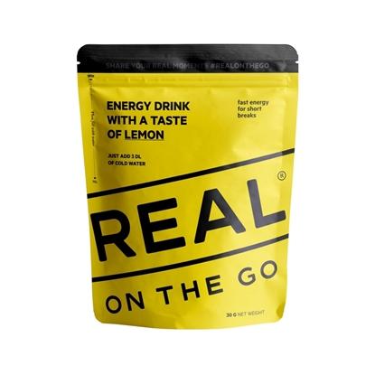 Bilde av REAL TURMAT Energy Drink Lemon