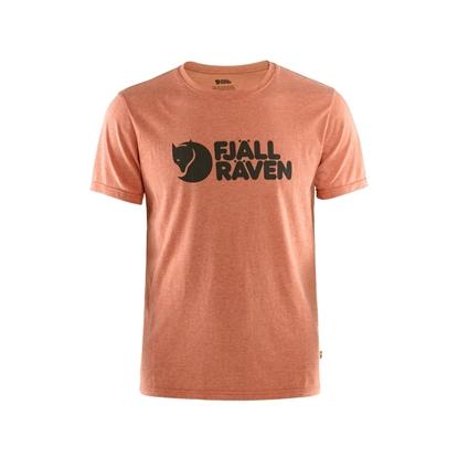 Bilde av FJÄLLRÄVEN Men's Logo T-Shirt Rowan Red/Melange