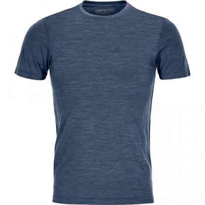 Bilde av ORTOVOX Men's Cool Tec Clean T-Shirt Blue Lake Blend