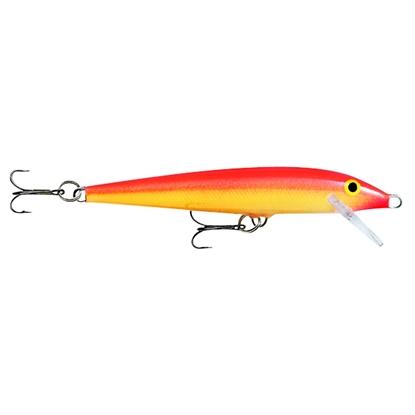 Bilde av RAPALA Original Floating F05 Gold Fluorescent Red