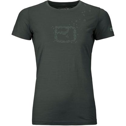 Bilde av ORTOVOX Women's Cool Leaves T-Shirt Green Pine