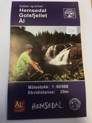 Bilde av HEMSEDAL, GOL og ÅL, Sykkel- og Turkart