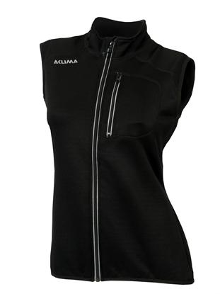 Bilde av ACLIMA Women's WoolShell Vest Jet Black