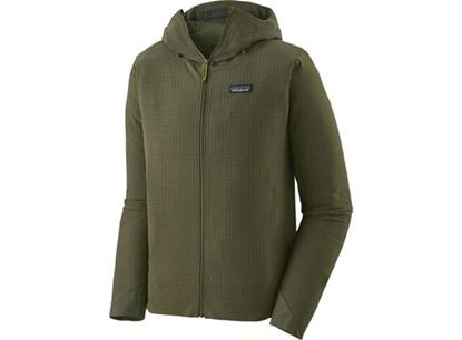 Bilde av PATAGONIA Men's R1 Full Zip Hoody Industrial Green