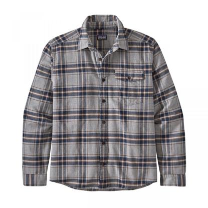 Bilde av PATAGONIA Men's Fjord Flannel Shirt Salt Grey