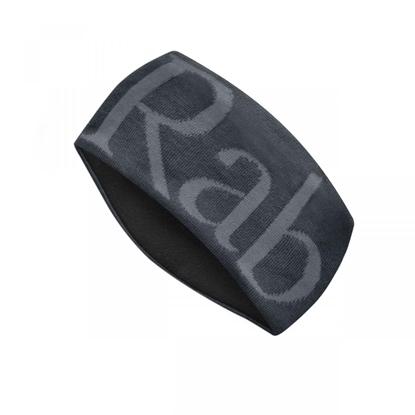 Bilde av RAB Knitted Logo Headband Anthracite/Grit