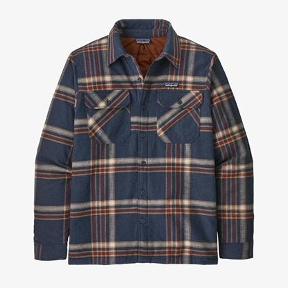Bilde av PATAGONIA Men's Insulated Organic Cotton Mw Fjord Flannel Shirt Grbe