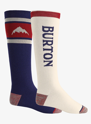 Bilde av BURTON Men's Weekend Midweight Sock 2PK Mood Indigo