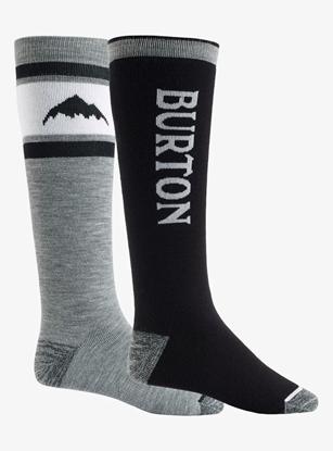 Bilde av BURTON Men's Weekend Midweight Sock 2PK True Black