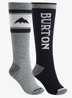 Bilde av BURTON Women's Weekend Midweight Sock 2PK True Black